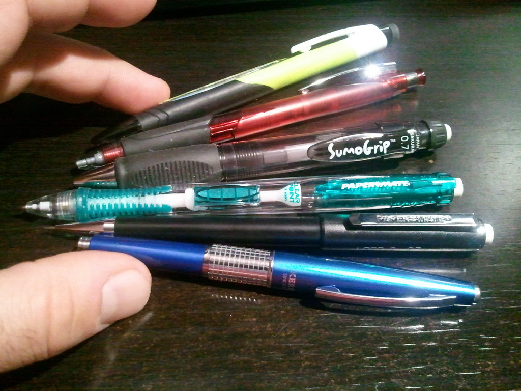 Cool mechanical pencils - Most Of My Mechanical Pencils