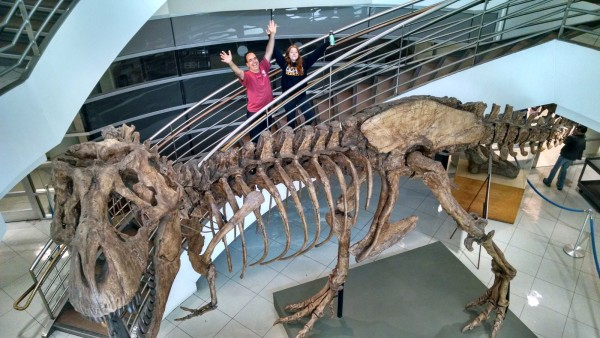 The Museum of Paleontology at UC Berkeley!