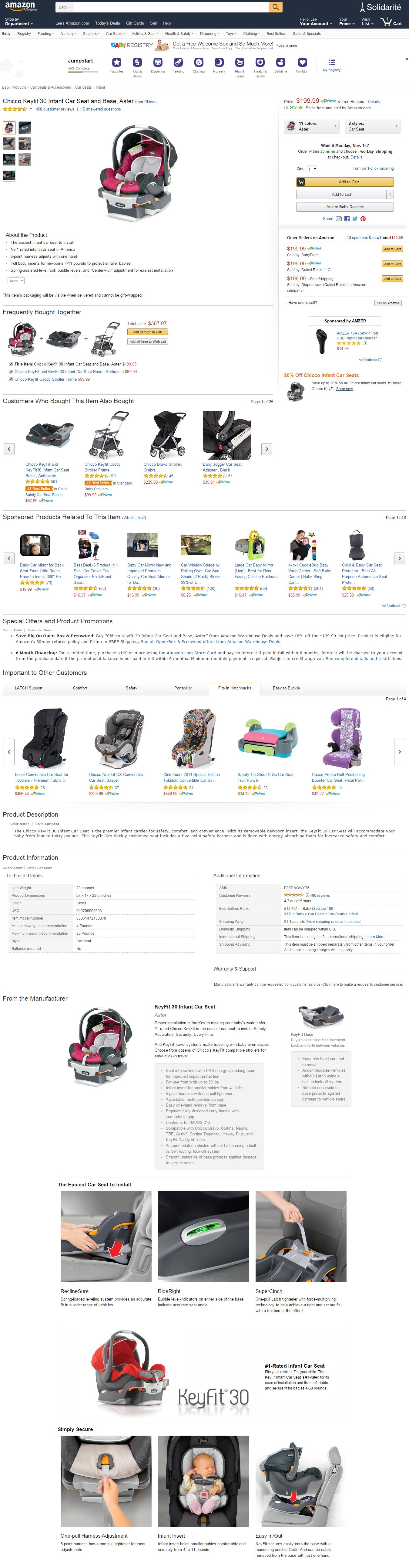 chicco keyfit 30 car seat manual