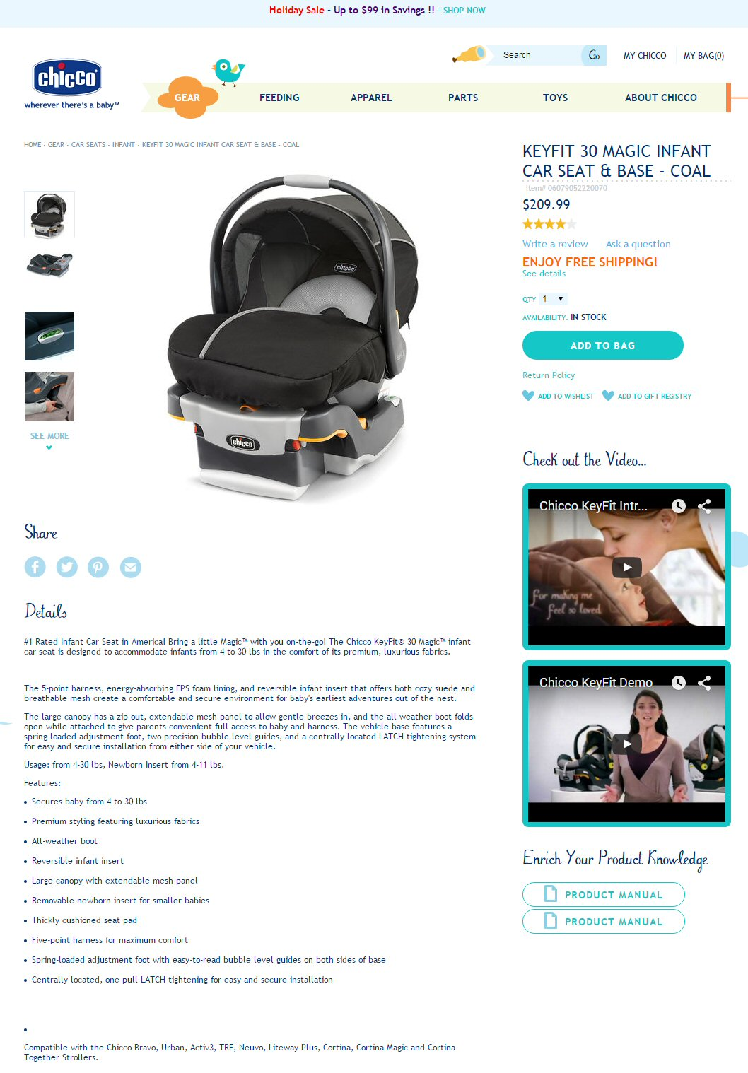 But The Manual Is Very Clear That It Supports A Baby 4 30 Lbs Inches Or Less