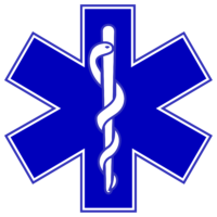 Star of Life: Very common worldwide medical symbol